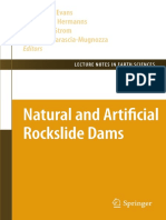 Natural and Artificial Rockslide Dams
