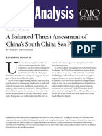 A Balanced Threat Assessment of China's South China Sea Policy