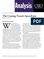 The Coming Transit Apocalypse