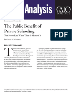 The Public Benefit of Private Schooling