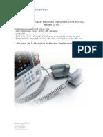 Desfibrilador D-100 Advanced Español
