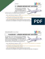 10 Flugzeuge LängenmessenmitVektoren
