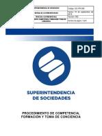 GC-PR-008 Competencia, Formación y Toma de Conciencia