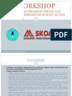 Presentasi Workshop Ms Access