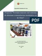 Proyecto Alarmas Comunitarias 2015