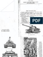 IS-4 - Soviet Heavy Tank, technical manual and description.