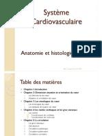 Anatomie Histologie Du Coeur 2017-2018