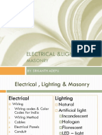 Electrical &Lighting