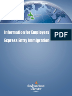 Express Entry for Employers