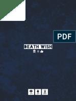 Death Wish Rules
