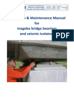 Mageba Bridge Bearings and Seismic Isolators - Inspection Maintenance