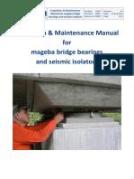 Mageba Bridge Bearings and Seismic Isolators - Inspection Maintenance