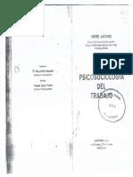 Jaccard (1967).Psicosociobiología Del Trabajo