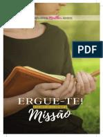 Sermonarios Sabado Missionario Da Mulher e Quebrando o Silencio 2017