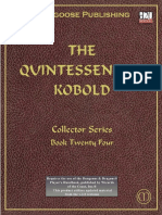 D&D the Quintessential Kobold PDF