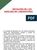 Ejemplos Interpretación de Los Análisis de Laboratorio