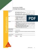 SIKA VOCOCRETE - FT-1085-01-08