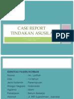 CR Asusila Forensik