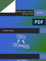 BAB 3 Prinsip Dan Alat-Evaluasi