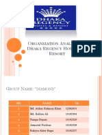 Organization Analysis of Dhaka Regency Hotel and Resort.pptx