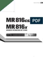 MR816 Operation Manual En