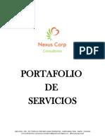 Porfalio de servicios