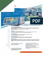 Catalogo Ahanvos HV-400 LCD _ES