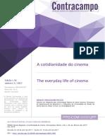 A Cotidianeidade do Cinema