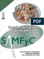 Recetas de Cocina Popular Paleña