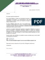 Carta de Presentacion Sm Cargo Paul Paredes