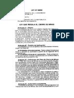 Ley 28090 Ley regula el Cierre de Minas.pdf