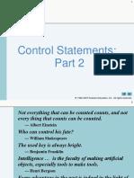 JavaHTP7e_05 - Control Statements Pt. 2