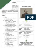 Justo José de Urquiza - Wikipedia, La Enciclopedia Libre