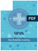 Data Reliability Guideline 2017