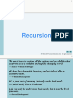 Chapter 3 Lecture Notes | Recursion | Programming Language
