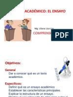 2.- El Texto Académico - Ensayo