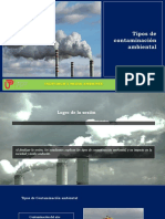 Sesión 06 - Tipos de Contaminación Ambiental