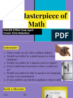 masterpiece of math
