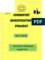 Project Chem By Mohit Bahuguna