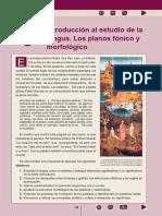 5 - Introducción Al Estudio de La Lengua. Los Planos Fónico y Morfológico