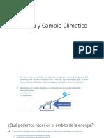 Energía y Cambio Climatico