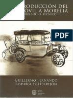 La introducción del automóvil a Morelia. Análisis sociotécnico