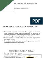 CICLOS IDEALES DE PROPULSIÓN POR REACCIÓN
