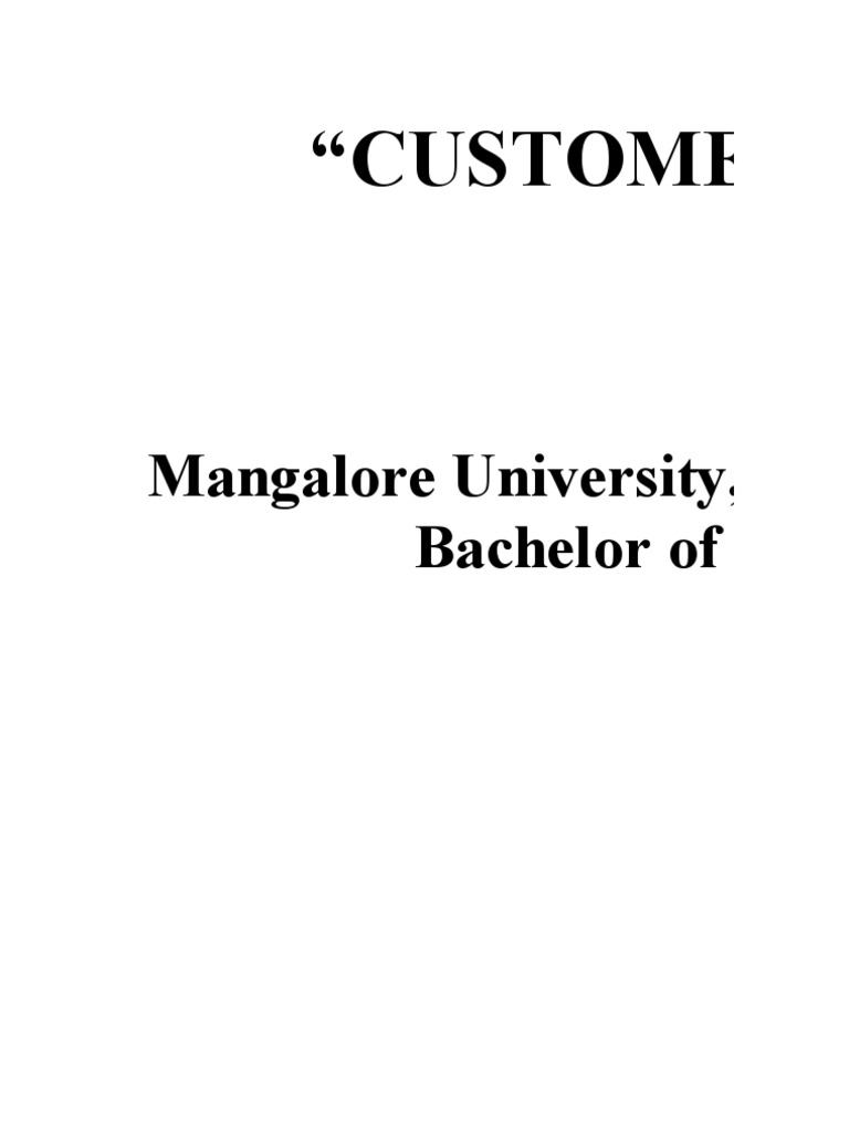 INTRODUCTION TO CUSTOMER SATISFACTION  INTRODUCTION TO CUSTOMER SATISFACTION