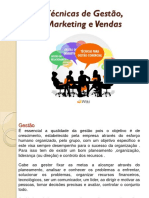Marketing e Vendas