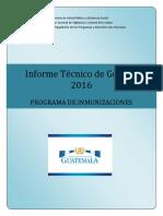 Informe Tecnico Gestion 2016