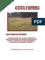 Perfil Losa Deportiva Unchus