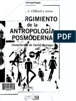 El Surgimiento de La Antropologia Pos Moderna Em Espanhol Cl Geertz