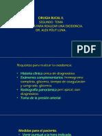 2. Colegio de Odontologos. Cirugia Bucal.
