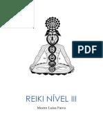 Reiki Nível III